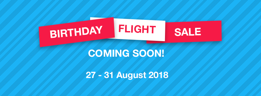 Birthday flight sale