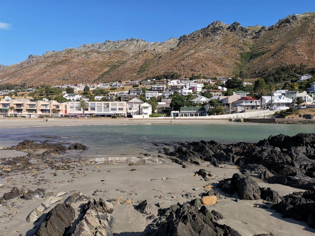 Gordon's Bay beach